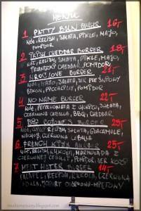 bad menu board