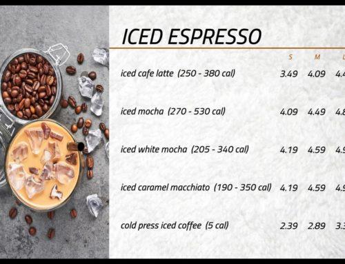 Iced Espresso